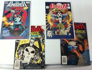 Punisher Marvel Comics Lot - Issue #1 for Armory and 2099 & more