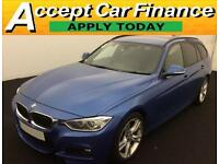 BMW 320 2.0TD ( 184bhp ) ( s/s ) Touring Auto 2013MY d M Sport FROM £62 PER WEEK