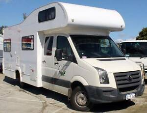 2010 CRAFTER DUAL CAB 2.5L TURBO AUTO DIESEL MOTORHOME Cannington Canning Area Preview