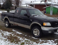 REDUCED AGAIN!! 2002 Ford F-150 Pickup Truck