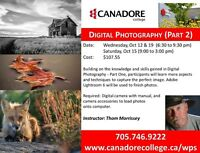 Digital Photography (Part 2) - Canadore College, Parry Sound