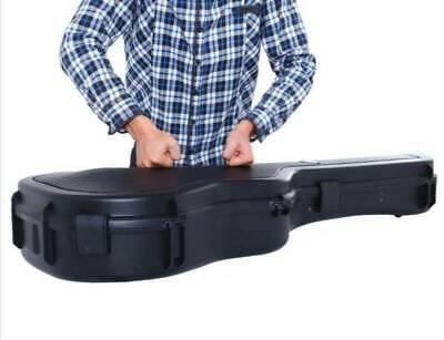 "41"" Black Acoustic Guitar Carrying Hard Case Fit Most Acoustic Guitars USA New"