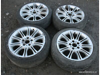 "BMW E36 E46 Replica MV2 18"" Alloys & Tyres Diff Drift Track 328i Sport 330i 325i M3"