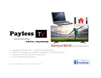 Payless TV - Paying too much for TV, Internet & Security?