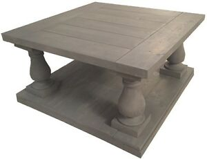 Balustrade and Farmhouse Style Tables
