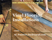 Vinyl & Click Vinyl Floor Installation by Experienced Handyman