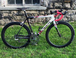 Dura-Ace Road Racing Bike with Carbon Wheels + Extras!