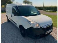 2013 Vauxhall Astra COMBO D 1.6 2300 L2H1 CDTI S/S 6d 105 BHP CREW CAB PANEL VAN