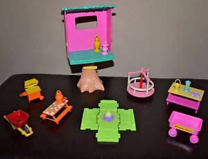 Camping/Treehouse Doll House/Barbie Accessories