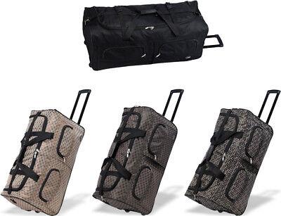 "30""/36""/40"" Polyester Rolling Wheeled Duffel Bag Travel Duffel Bag on Wheel"