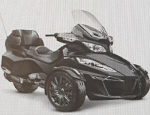 2014 Can-Am Spyder RT-S - make me a reasonable offer- MUST SELL