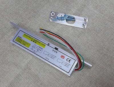 Electric Bolt Drop Door Lock 5 Cables Wood Glass Door Timer Delay Nc Fail Safe