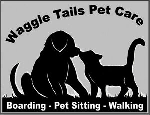 Waggle Tails , Boarding Pet Sitting, Dog Walking, Kennel Rentals