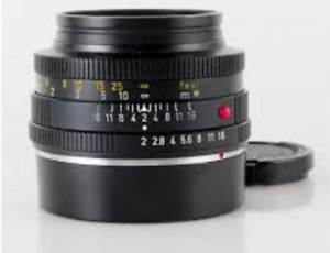 Leica SUMMICRON-R 50mm f/2 plus addapter Canon/Sony