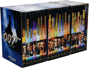 James Bond dvd special edition 3 pack of 20 dvd movies
