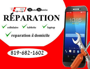 Cell phone repair at stores or at your home
