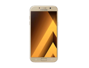 Galaxy A7 2017 32GB works perfectly except crack backside Unlock