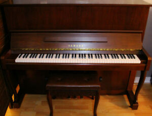 Yamaha Upright Piano Like New $OBO$
