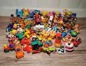 Vintage retro McDonald's Toys 60+