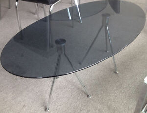 Modern coffee table,end table,accent , tempered glass