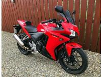 HONDA CBR500R - LOW MILES - FULL HISTORY - FITTED EXTRAS - A2 COMPLIANT. - PX
