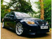 FULLY LOADED 2007 BMW 535D 3.0 TWIN-TURBO LCI M SPORT TOURING AUTO ESTATE / 530D