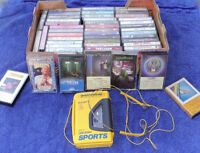Cassette Tapes and Sony Walkman