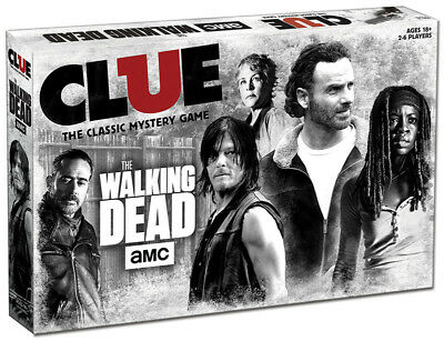 AMC® The Walking Dead®  CLUE®  AGE 18+ , used for sale  Shipping to South Africa