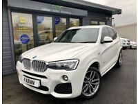 2014 BMW X3 2.0TD 4X4 xDrive20d M Sport **WHITE**