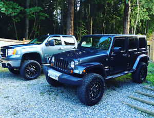 2010 Lifted Jeep Wrangler Sahara UNLIMITED
