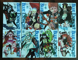 Blue Exorcist Manga, Volumes 5 - 12