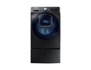 SAMSUNG HIGH EFFICIENCY WASHER /DRYER STEAM PAIR FOR $1636