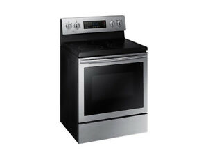 Samsung Ceramic Flat cooktop Convection Oven , Ventilation hood