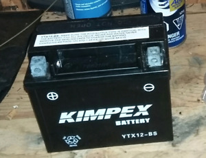 Brand new kimpex motorcycle battery