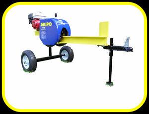 Gripo 20 ton kinetic log splitter, 3 sec.cycle time, Honda power