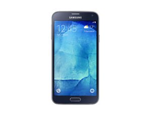 NEW SAMSUNG GALAXY S5 NEO BELL AND VIRGIN MOBILE BLACK