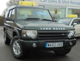 2002 LAND ROVER DISCOVERY 2.5 Td5 GS 7 seat