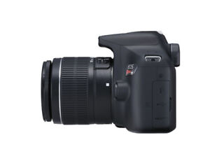 CANON EOS REBEL T6 ALMOST NEW FOR SALE-WITH CASE
