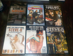 STEVE-0 DVD collection + Haggard