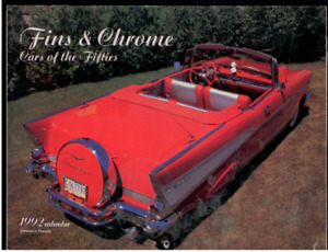 1992 Fins & Chrome Calendar Great photos of Cars of the Fifties