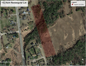 Beautiful 5.2 Acre Lot For Sale