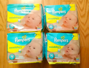 PAMPERS Newborn Swaddlers - Brand New, unopened