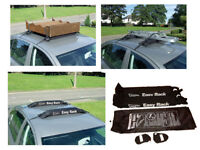 Soft Roof Rack, Easy to use & secure. As New. Works with most cars. Boxed with Storage Bag. £20 ono