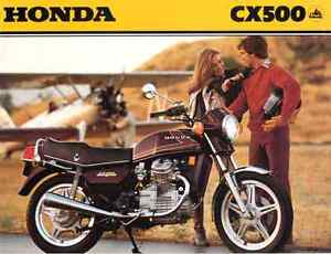 Looking for a Honda cx500