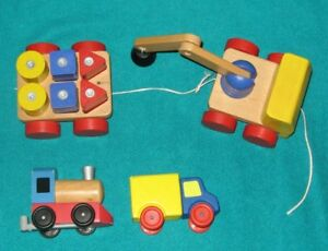 Big Truck   &  Magnetic Crane  & Blocks