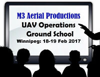 UAV Operations Ground School Course: Winnipeg
