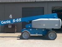 2004 Genie S65 Boom Lift For Sale