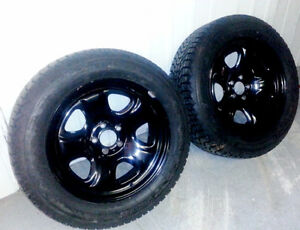 4 Winterforce Tires