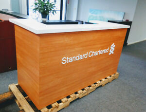 Reception Counter with Storage