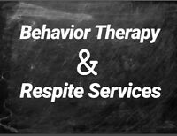 Offering private behavior therapy (BI/respite)